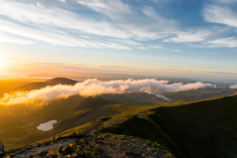 Snowdon sunset - Mount Snowdon, Snowdonia