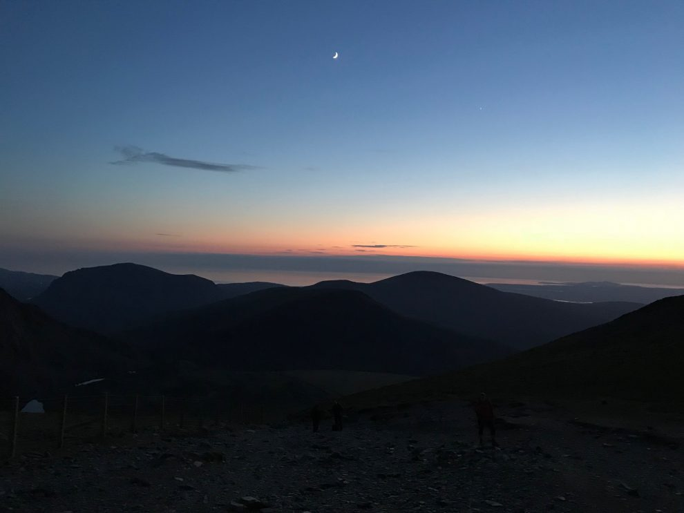 Snowdon Sunset