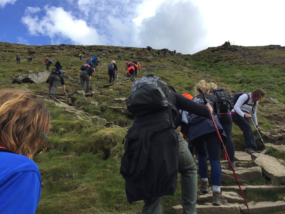 Yorkshire Three Peaks - Group heading to number three