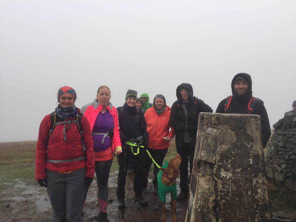 Yorkshire Three Peaks summit picture guided walk