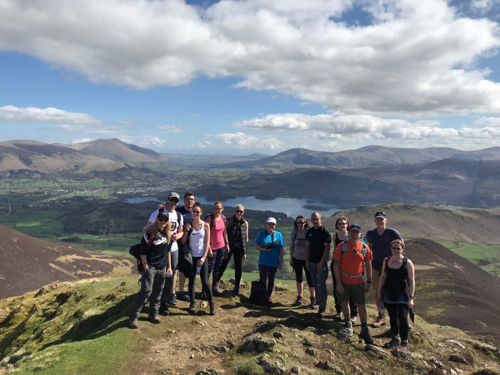Coledale 10 Peak Challenge April 2018 Casuey Pike
