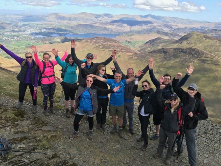 Coledale 10 Peak Challenge final peak