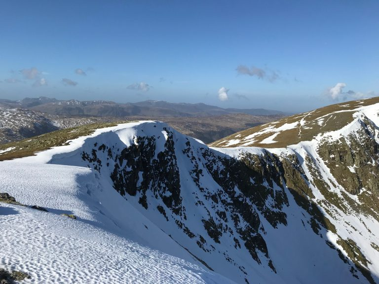 Heading to Helvellyn via Nethermost Pike