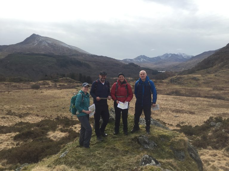 Mountain Skills Course Navigation Day