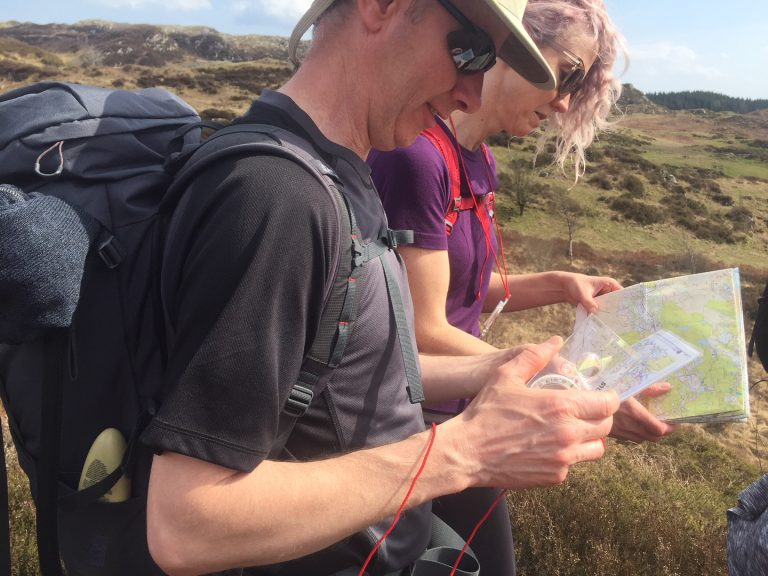 Map & Compass Skills - Mountains Skills Course in Snowdonia