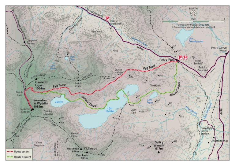Pyg Track Map