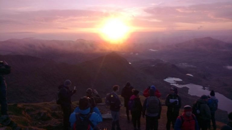 Snowdon Sunrise Guided Walk