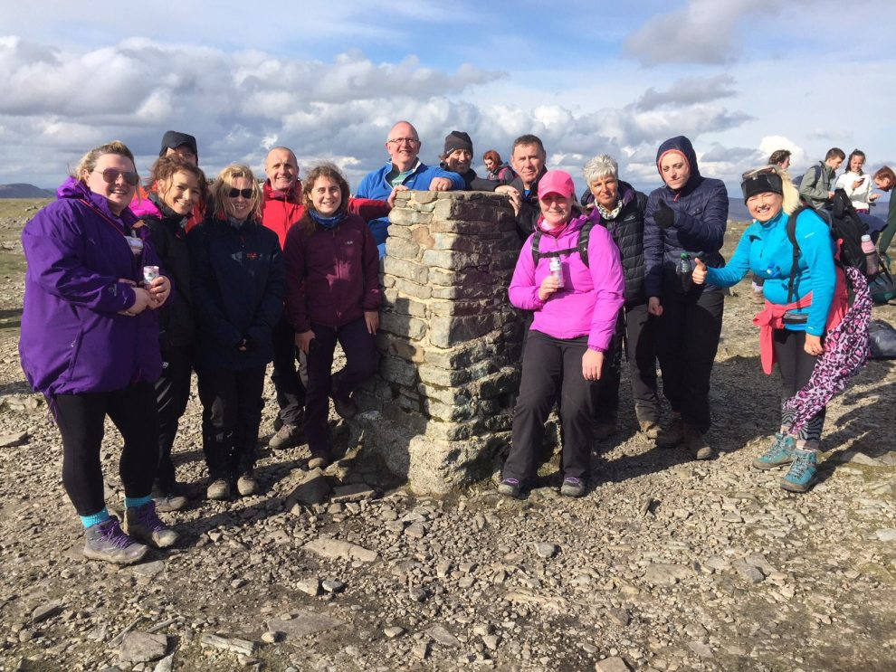 Yorkshire Three Peaks May Group Summit Picture