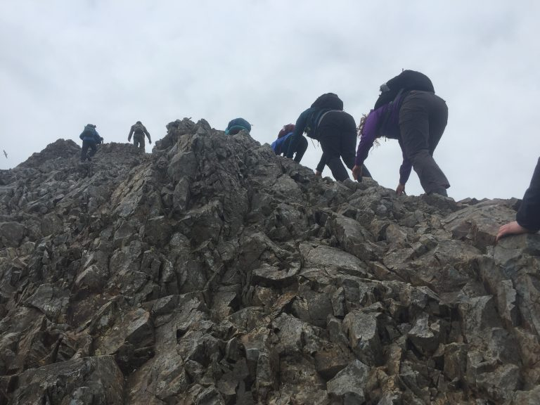 Crib Goch! The ultimate Snowdonia scrambling adventure.