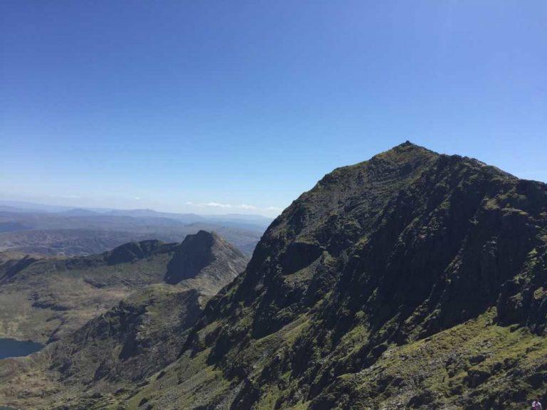 Yr Wyddfa view Llanberis Path