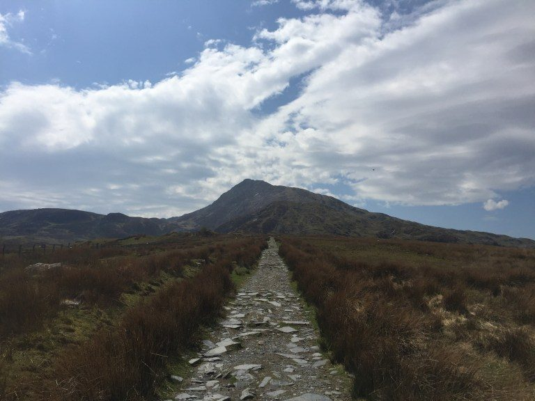 The path from Capel Curig to Moel Siabod