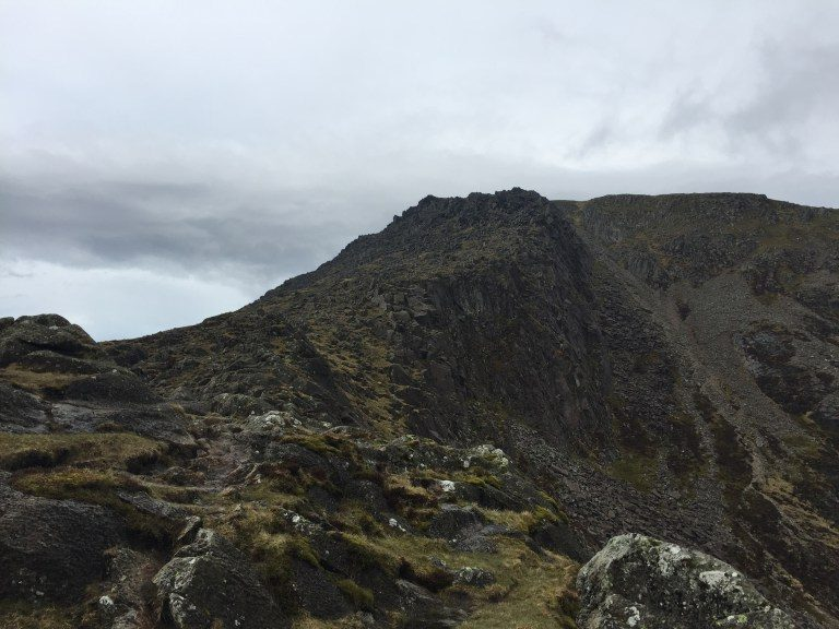 The Daear Ddu Ridge on Moel Siabod