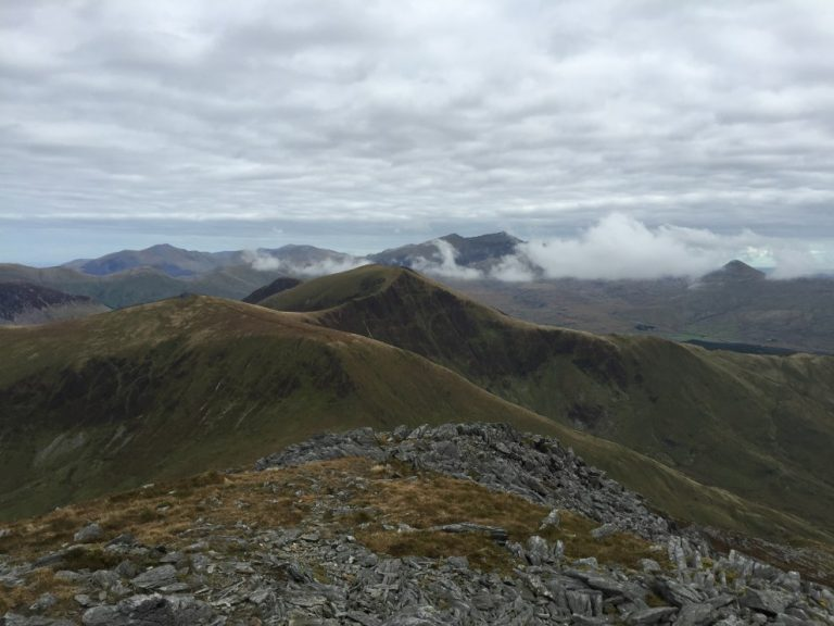 Nantlle Ridge to Snowdon