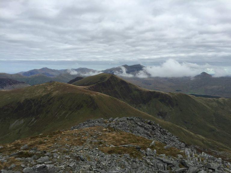 Nantlle Ridge to Snowdon