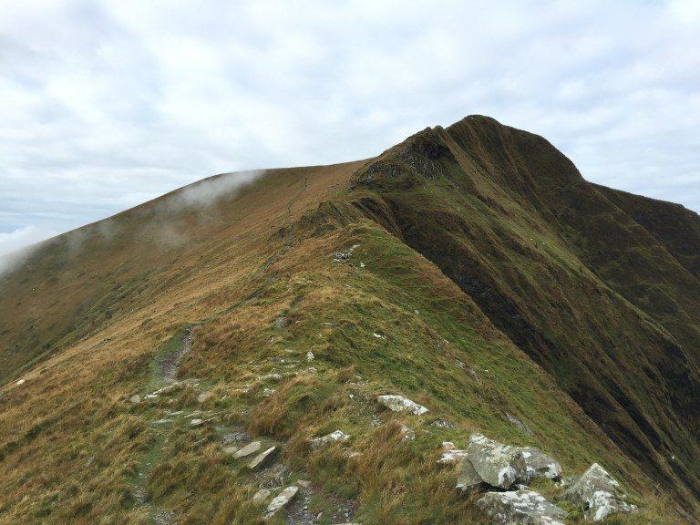 Nantlle Ridge and Trum y Ddysgl