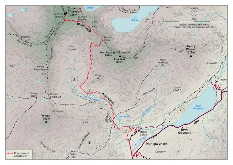 Watkin Path Map