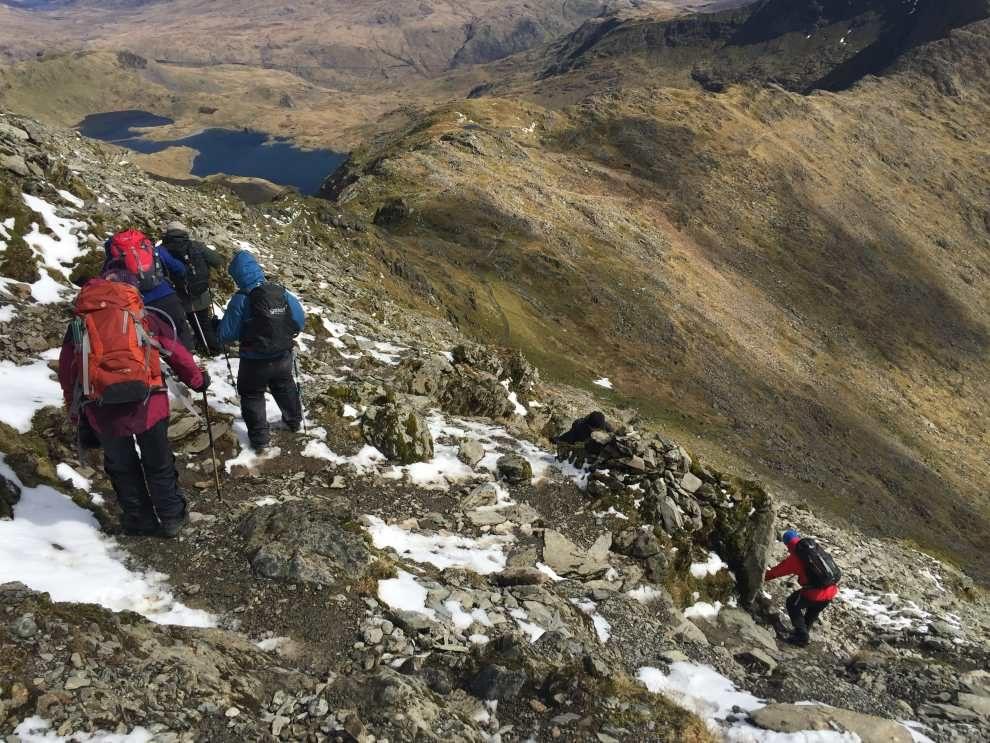 Watkin Path Snowdon